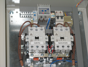 200 amp Automatic Mains Failure Unit - for Network Rail